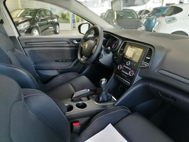 Photo miniature de la Renault Megane Mégane IV Berline Blue dCi 115 Business 2020 d'occasion