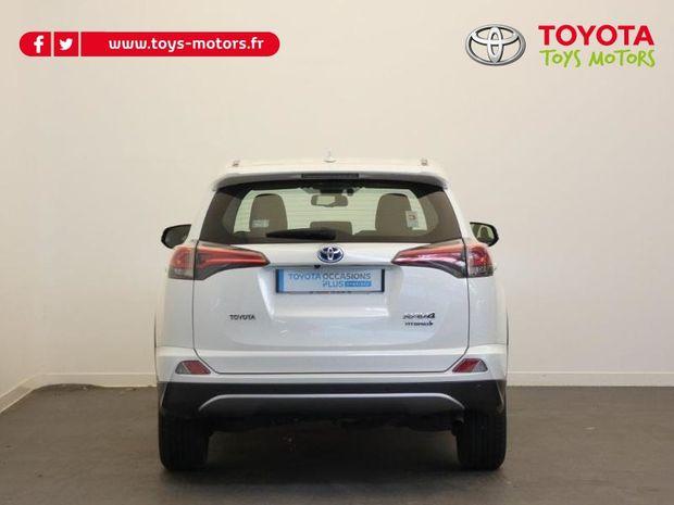 Photo miniature de la Toyota RAV4 197 Hybride Dynamic 2WD CVT 2017 d'occasion