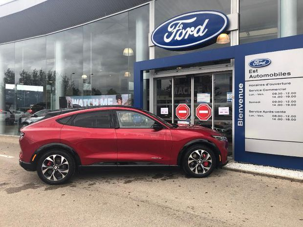 Photo miniature de la Ford Mustang Mach-E Extended Range 99kWh 351ch AWD 2021 d'occasion