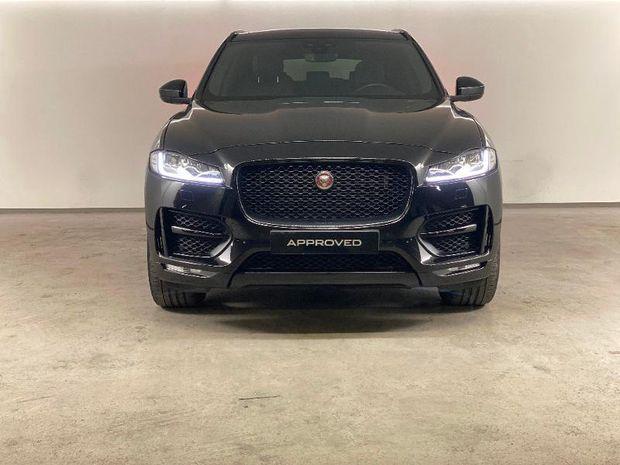 Photo miniature de la Jaguar F-Pace 2.0D 180ch R-Sport AWD BVA8 2019 d'occasion