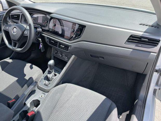 Photo miniature de la Volkswagen Polo 1.0 TSI 95ch Confortline DSG7 Euro6d-T - Radars avant - Vitres surteintées 2019 d'occasion
