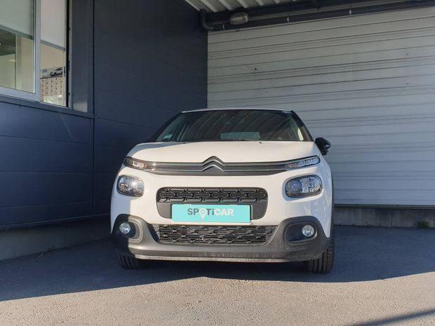 Photo miniature de la Citroën C3 PureTech 82ch Shine S&S BVM 2019 d'occasion