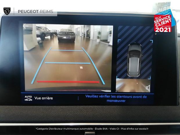 Photo miniature de la Peugeot 3008 1.5 BlueHDi 130ch S/S Active Pack EAT8 TOuvrant Camera 2021 d'occasion