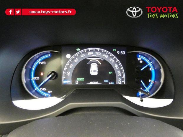 Photo miniature de la Toyota RAV4 Hybride 218ch Lounge 2WD 2021 d'occasion