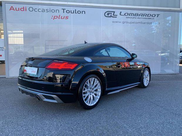 Photo miniature de la Audi TT Coupé 40 TFSI 197 S tronic 7 S line 2020 d'occasion
