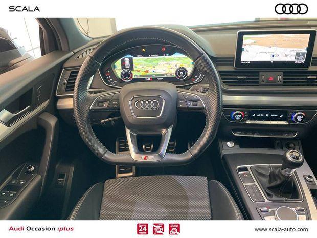 Photo miniature de la Audi Q5 2.0 TDI 150 S line 2018 d'occasion