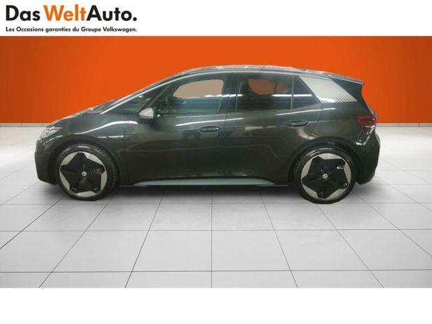 Photo miniature de la Volkswagen ID.3 58 kWh - 204ch 1st Max 2021 d'occasion