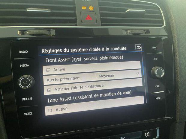 Photo miniature de la Volkswagen Golf 1.5 TSI EVO 150ch IQ.Drive DSG7 Euro6d-T 5p 2019 d'occasion
