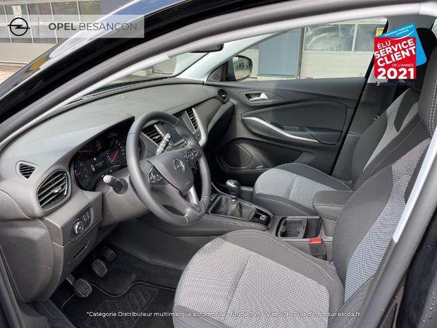 Photo miniature de la Opel Grandland X 1.2 Turbo 130ch Edition 2021 d'occasion