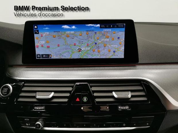 Photo miniature de la BMW Serie 5 520dA xDrive 190ch M Sport Steptronic 2020 d'occasion