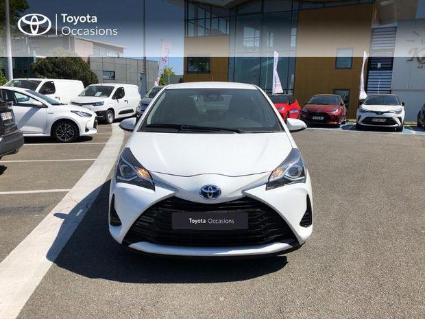 Photo miniature de la Toyota Yaris 100h France 5p RC18 2019 d'occasion
