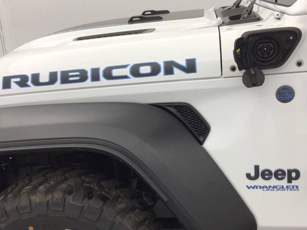 Photo miniature de la Jeep Wrangler 2.0 T 380ch Rubicon 4xe Rock-Trac BVA8 2021 d'occasion