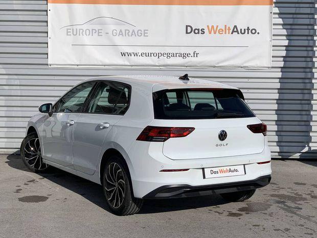 Photo miniature de la Volkswagen Golf 1.5 TSI ACT OPF 130 BVM6 Life 1st 2020 d'occasion
