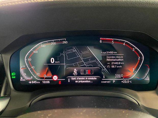 Photo miniature de la BMW Serie 3 318dA 150ch M Sport 2020 d'occasion