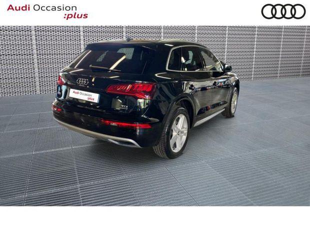 Photo miniature de la Audi Q5 2.0 TDI 163ch S line quattro S tronic 7 2018 d'occasion