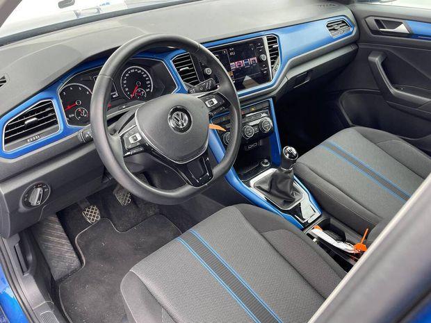 Photo miniature de la Volkswagen T-Roc 1.5 TSI 150 EVO Start/Stop BVM6 Lounge 2018 d'occasion