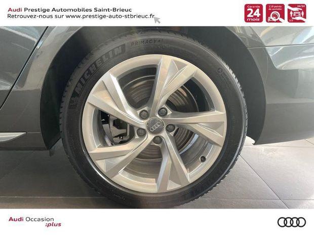 Photo miniature de la Audi A4 Avant 40 TDI 190ch S line Stronic 7 2021 d'occasion
