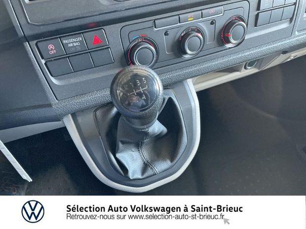 Photo miniature de la Volkswagen Transporter Fg 2.8T L1H1 2.0 TDI 102ch Business Line 2019 d'occasion
