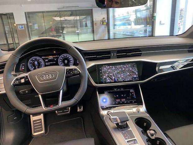 Photo miniature de la Audi A6 Avant 50 TFSIe 299 ch S tronic 7 Quattro S line 2021 d'occasion