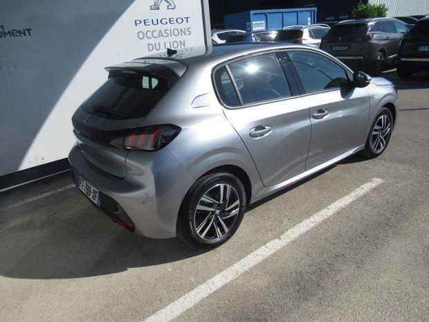 Photo miniature de la Peugeot 208 1.2 PureTech 100ch S&S Allure 118g 2020 d'occasion