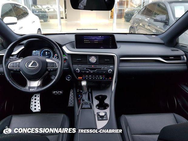 Photo miniature de la Lexus RX 450h 3.5 V6 313 E-Four F SPORT E-CVT 2017 d'occasion
