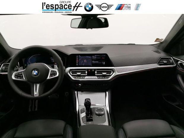 Photo miniature de la BMW Serie 4 Coupe 420dA 190ch M Sport 2021 d'occasion