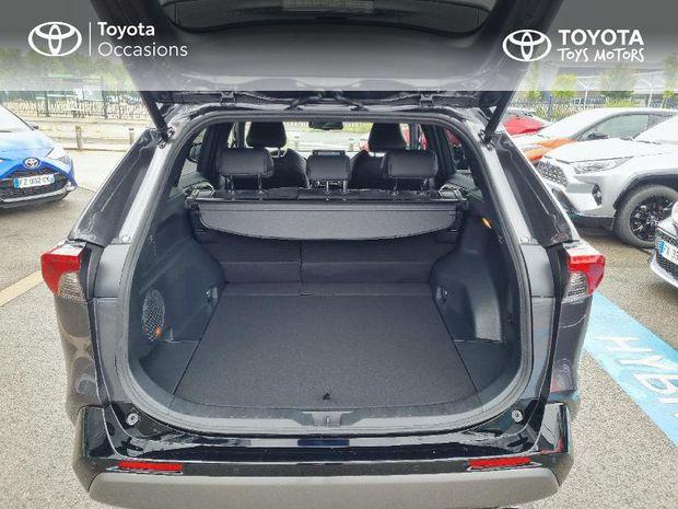 Photo miniature de la Toyota RAV4 Hybride 218ch Collection 2WD MY21 2021 d'occasion