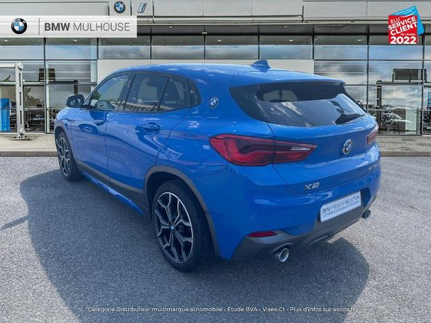 Photo miniature de la BMW X2 sDrive18d 150ch M Sport X GPS Camera Radar AV/AR JA19 LED 2018 d'occasion
