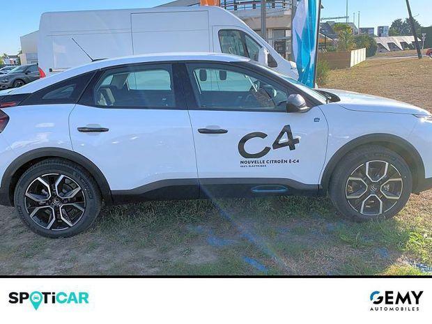 Photo miniature de la Citroën C4 Moteur électrique 136ch (100 kW) Feel Automatique 2021 d'occasion