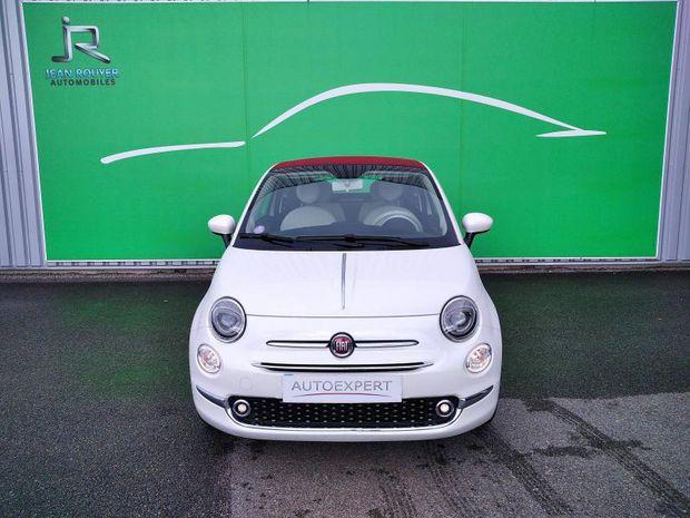 Photo miniature de la Fiat 500 C 1.0 70ch BSG S&S Lounge 2020 d'occasion