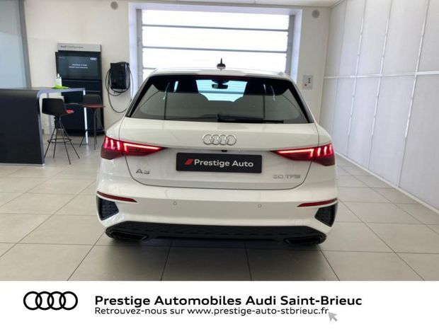 Photo miniature de la Audi A3 Sportback 30 TFSI 110ch S line 2021 d'occasion