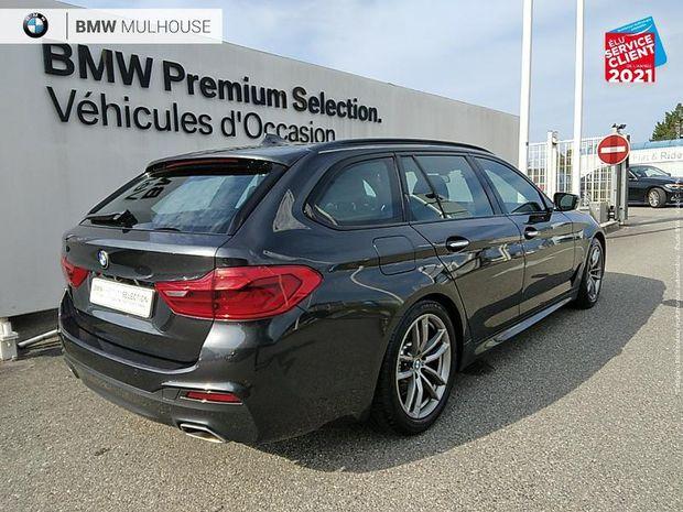 Photo miniature de la BMW Serie 5 Touring 520dA 190ch M Sport Steptronic TPano Cuir Sieges chauf HUD Palettes 2017 d'occasion