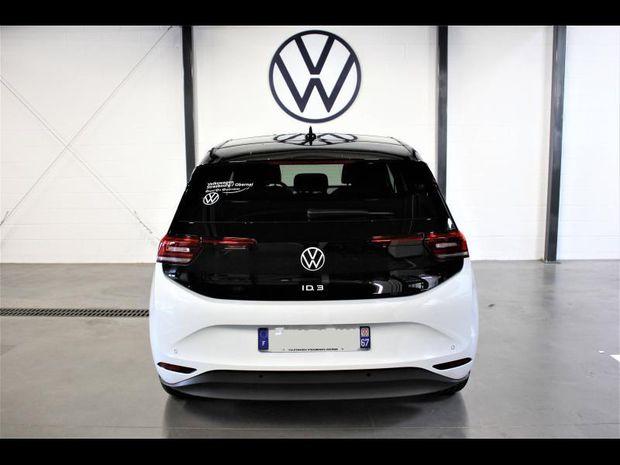 Photo miniature de la Volkswagen ID.3 58 kWh - 145ch Family 2021 d'occasion