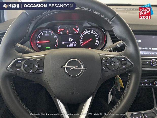 Photo miniature de la Opel Crossland X 1.2 83ch Edition Euro 6d-T 1ere main 2020 d'occasion