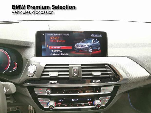 Photo miniature de la BMW X3 xDrive20dA 190ch M Sport Euro6d-T 2019 d'occasion
