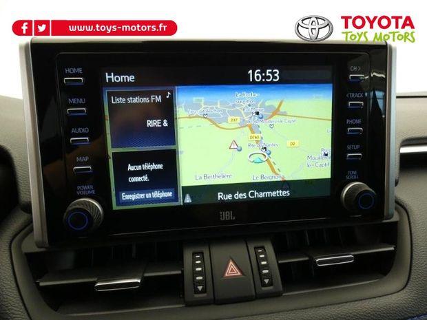 Photo miniature de la Toyota RAV4 Hybride 222ch Collection AWD-i MY21 2021 d'occasion