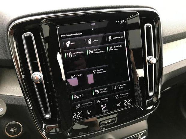 Photo miniature de la Volvo XC40 T5 Recharge 180 + 82ch Inscription Luxe DCT 7 2021 d'occasion
