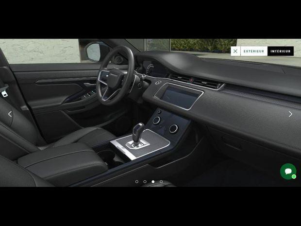 Photo miniature de la Land Rover Range Rover Evoque Evoque 2.0 P 200ch Flex Fuel R-Dynamic S AWD BVA 2021 d'occasion