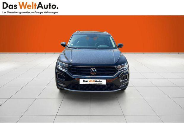Photo miniature de la Volkswagen T-Roc 2.0 TDI 150ch Carat Exclusive DSG7 145g 2021 d'occasion