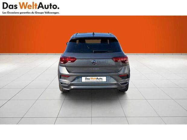 Photo miniature de la Volkswagen T-Roc 2.0 TDI 150ch R-Line DSG7 145g 2021 d'occasion
