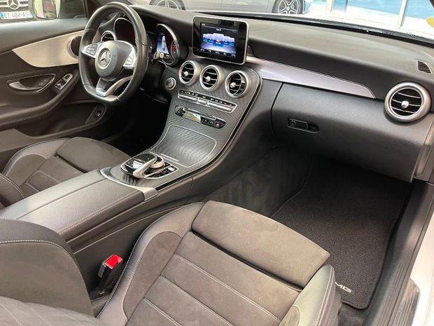 Photo miniature de la Mercedes Classe C Coupe 250 d 204ch Sportline 9G-Tronic 2018 d'occasion