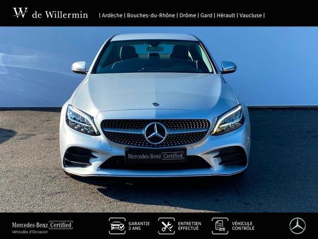 Photo miniature de la Mercedes Classe C 200 d 160ch AMG Line 9G-Tronic 2020 d'occasion