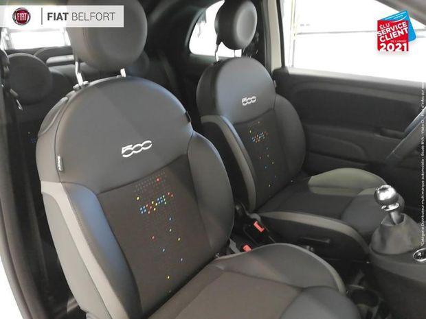 Photo miniature de la Fiat 500 C 1.0 70ch BSG S&S Hey Google 2021 d'occasion