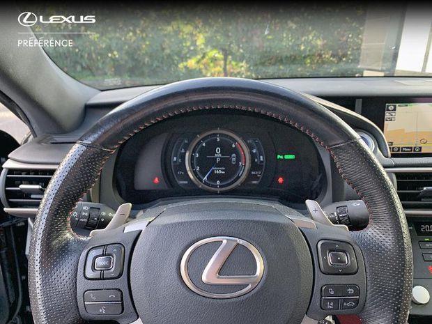 Photo miniature de la Lexus RC F RC 300h F SPORT Executive 2017 d'occasion