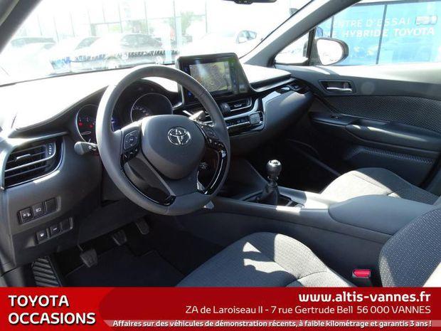 Photo miniature de la Toyota C-HR 1.2 Turbo 116ch Dynamic GPS Pack SUV Premium 2WD 2017 d'occasion