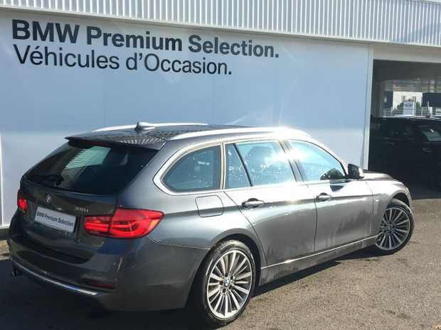 Photo miniature de la BMW Serie 3 Touring 318iA 136ch Luxury 2017 d'occasion