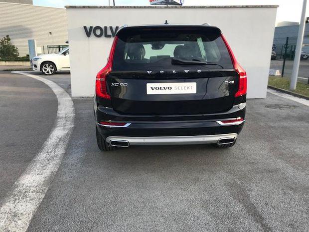 Photo miniature de la Volvo XC90 D4 190ch Inscription Luxe Geartronic 7 places 2018 d'occasion