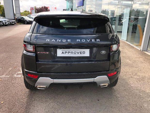 Photo miniature de la Land Rover Range Rover Evoque Evoque 2.0 TD4 150 SE Dynamic 4x4 BVA Mark VI 2019 d'occasion