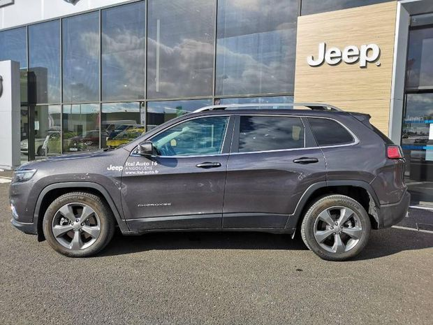 Photo miniature de la Jeep Cherokee 2.2 MultiJet 195ch S&S Limited BVA9 2018 d'occasion
