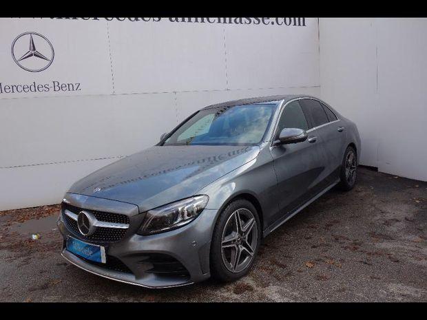 Photo miniature de la Mercedes Classe C 220 d 194ch AMG Line 4Matic 9G-Tronic 2018 d'occasion